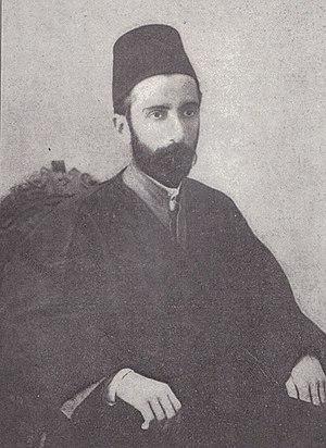 Mirza Badi'u'llah Effendí - Badi'u'llah Baha'i in 1900