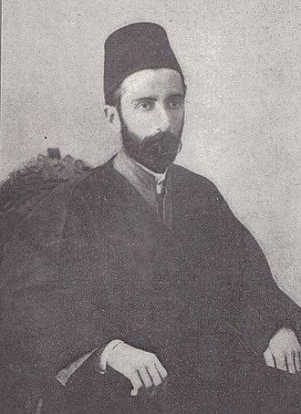 Bahá'u'lláh's family - Mirza Badi'u'llah Effendí