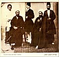 Mirza Mohammad Rahim 3rd- Sheikholeslam of Esfahan with His Uncle- میرزا محمد رحیم سوم ،شیخ الاسلام اصفهان با دائی اش.jpg