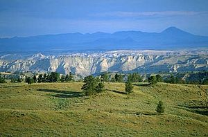 Upper Missouri River Breaks National Monument - The Missouri River carved the Breaks into the Montana landscape