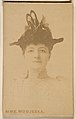 Mme. Modjeska, from the Actresses series (N246), Type 1, issued by Kinney Brothers to promote Sporting Extra Cigarettes MET DP860011.jpg