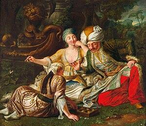 Mangala (game) - Johann Samuel Mock, Mangala Game, 1730-1735. National Museum in Warsaw.