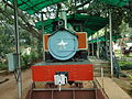 Model of train engine Mysore Rail Museum.JPG