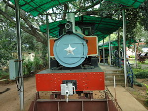 Railway Museum Mysore - Model of locomotive