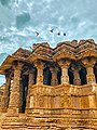 Modhera sun temple in monsoon.jpg