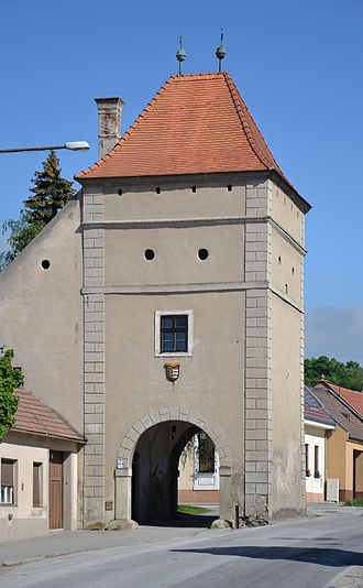 "Modra - The ""Upper Gate"", the only remaining fortification gate in Modra"