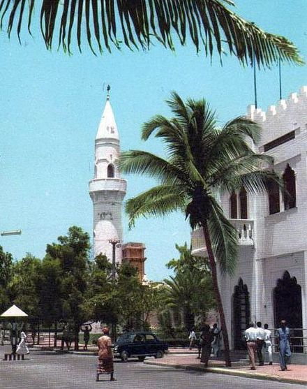 An avenue in Mogadishu in 1963 Mogadishu city centre - 1960s.jpg