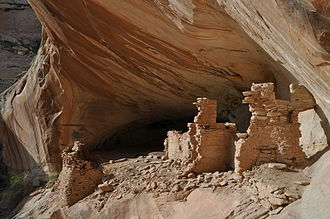 Bears Ears National Monument - Monarch Cave Ruin, a cliff dwelling on Comb Ridge