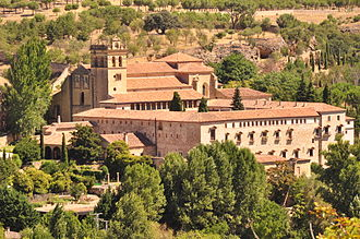 Monastery - The Monastery of Santa María del Parral of the Hieronymites monks in Segovia, Spain