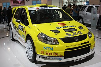 2008 Paris Motor Show - Suzuki SX4 WRC at Paris 2008