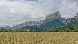 Mont Aiguille seen from Clelles