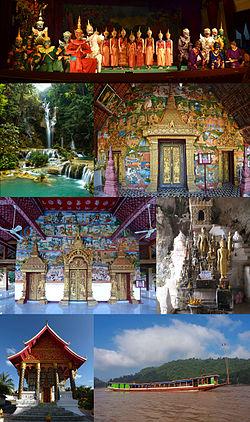 Montage of Luang Prabang Province, Laos.jpg
