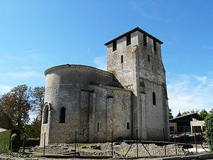 Montcaret - Image: Montcaret église (1)