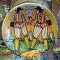 Montelupo, piatto con gioco del pallone col bracciale, 1600-1650 ca..JPG