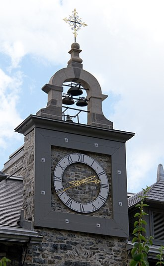 Saint-Sulpice Seminary (Montreal) - The Clock