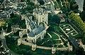 Montreuil-Bellay castle, aerial view.jpg