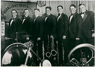 1928 in jazz - The Moonlight Serenaders perform over WCBE New Orleans, late 1920s