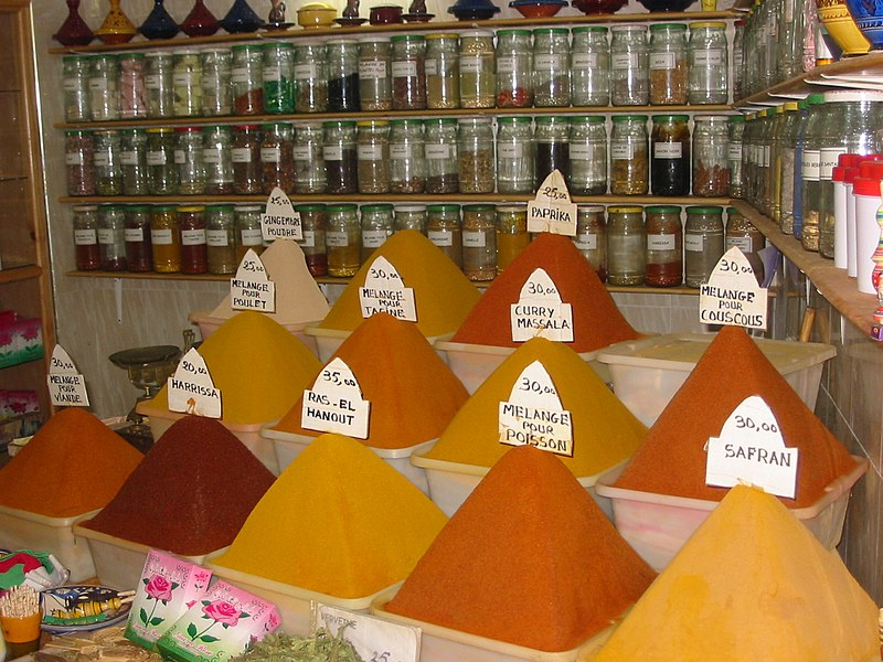 File:Morocco, Spices.JPG