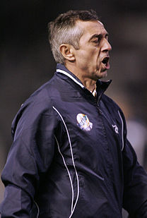 Morocco vs Gabon, Alain Giresse, March 28 2009.jpg