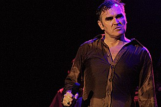 Morrissey - Morrissey performing in 2006