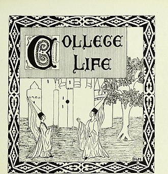 Barnard College - College life as depicted by the college's newspaper in 1923.