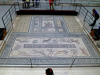 Orpheus mosaic - Image: Mosaiken Markttor Milet Pergamonmuseum Berlin Germany panoramio