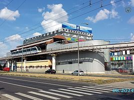 Moscow Monorail - Telecentre station 1.jpg