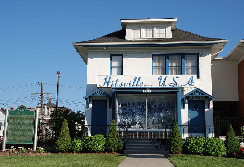Der Ort vieler Motown-Aufnahmen: Studio Hitsville