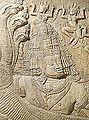 Moulage et original (détail du barattage de la mer de lait, Angkor Vat) (11804399064).jpg