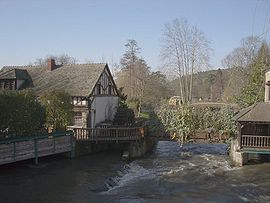 The mill of Cocherel