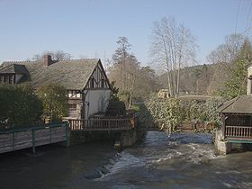 Le moulin de Cocherel
