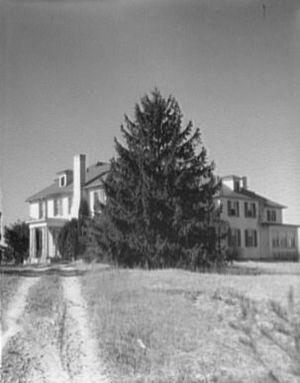 Mount Eagle (plantation) -  Mount Eagle, Fairfax County, Virginia