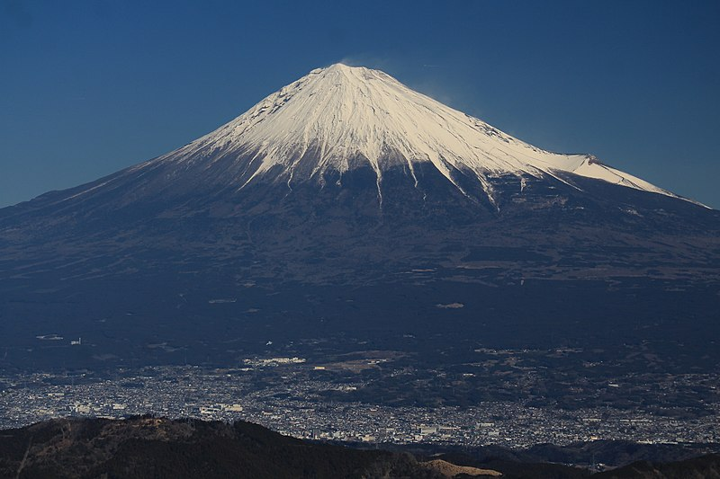 Mount Fuji and Fujinomiya.jpg