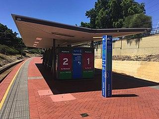 Mount Lawley railway station Railway station on Midland railway line, Perth, Western Australia