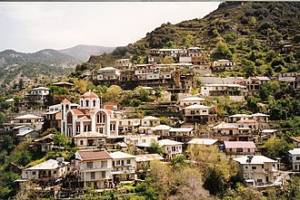 Moutoullas - Image: Moutoullas, Troodos, Zypern