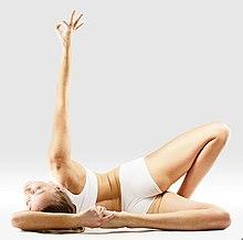 220px Mr yoga sideways half bigtoe bow pose yoga asanas Liste des exercices et position à pratiquer