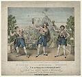 Mr Gifford; Paul John Bedford; Mr S. Jones as Neapolitan Fishermen in 'Masaniello by John William Gear.jpg