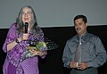 "Ms. Alexis Krasilovsky (Director) addressing at the presentation of the film ""WOMEN BEHIND THE CAMERA"", during the 39th International Film Festival (IFFI-2008), in Panaji, Goa on November 26, 2008.jpg"