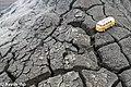 Mud volcanoes in Gobustan and minibus.jpg