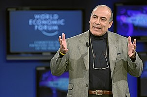 Muhtar Kent - Kent at the World Economic Forum in Davos, 2010.