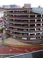 Multi-storey car park, Percy Street (geograph 1666894).jpg