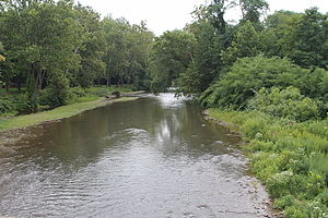 Muncy Creek - Muncy Creek in Muncy Creek Township