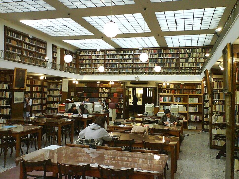Municipal Library of Patra interior