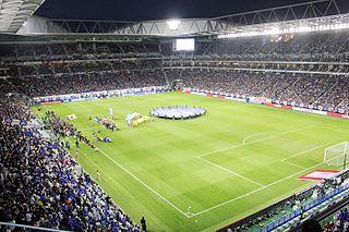 Panasonic Stadium Suita building in Suita, Osaka Prefecture, Japan