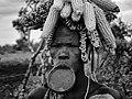 Mursi Woman, Mago, Ethiopia (17241971982).jpg
