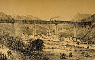 Viaduc d'Ormaiztegi - Image: Museo Zumalakarregi Albumsigloxix 002431