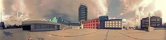 Valladolid Science Museum - Image: Museo de la Ciencia de Valladolid 360º Versión Vintage