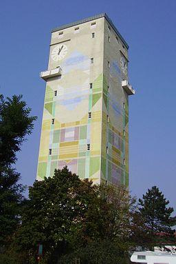 Water tower, Mutterstadt in Rheinland-Pfalz (Germany)