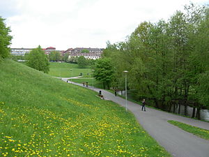 Sagene - Myraløkka, a park near Akerselva in Sagene