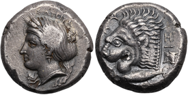 ancient Greek coin from Cyzicus
